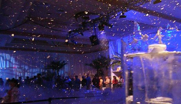 party-snow